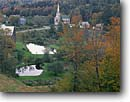 Stock photo. Caption: South Woodbury Congregational Church South Woodbury Washington County Vermont -- east country countryside autumn fall trees destination travel north northeast quaint colors color maple  churches worship religion steeple rural peace peaceful truth picturesque spiritual family religious symbols buildings building foliage landscapes