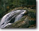 Stock photo. Caption: Dark Hollow Falls Shenandoah National Park Applachian Mountains Virginia -- mountains parks fall autumn waterfall waterfalls cascades brooks creek creeks Applachia rocky solid landscape landscapes scenic scenic forest scene scenics scenic forests