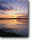 Stock photo. Caption: Lake Tomah Tomah Monroe County, Wisconsin -- united states america lakes sunset sunsets skies reflection reflections landscape landscapes great region scenic scenics