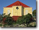 Stock photo. Caption: Emmaus Moravian Church Coral Bay Saint John United States Virgin Islands -- united states american island caribbean tropical destination destinations vacation vacations travel tourist attractions attraction brick bricks history historical colonization churches worship religion spiritual sunny clear simple protectorate