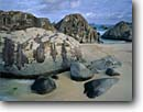 Stock photo. Caption: Granite boulders at the Crawl Devils Bay National Park Virgin Gorda British Virgin Islands -- caribbean beach beaches sand sandy granite boulder boulders island tropical destination destinations vacation vacations sunny warm tourist travel landscape landscapes exotic romantic inviting azure paradise blue ocean oceans famous places place landmarks