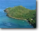 Stock photo. Caption: Anderson Point Brewers Bay Tortola British Virgin Islands -- caribbean island tropical destination destinations vacation vacations sunny warm tourist travel landscapes ocean private idealic home getaway isolation landscape exotic secluded paradise azure dream happy winter colour homes building house boat boats