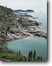 Stock photo. Caption: One Mile Island Pukaskwa National Park Lake Superior Ontario,  Canada -- glacial polished shield canadian lakeshore lakeshores rocky shore shoreline bays lakes parks north america summer great region cliffs canoeing kayaking area areas spectacular shorelines landscape landscapes midwestern midwest upper