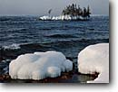 Stock photo. Caption: Batchawana Bay Lake Superior Ontario Canada -- canadian lakeshore lakeshores  shore shoreline lakes parks north america great frozen freezing snow covered winter wintery cold island islands fresh waves beach contrast shorelines region landscape landscapes