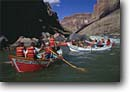Stock photo. Caption: Dories safely below Lava Falls Colorado River, Grand Canyon Grand Canyon National Park Colorado Plateau,  Arizona -- boating dories trip trips southwest southwestern united states america rivers canyons spring desert deserts country rafting boat boats dory adventure wilderness experience plateau whitewater parks leisure  isolation solitude people floating float rapidrec