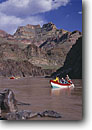 Stock photo. Caption: Dories Colorado River at Burro Canyon Grand Canyon National Park Colorado Plateau,  Arizona -- boating dories trip trips southwest southwestern united states america rivers canyons spring desert deserts country rafting boat boats dory adventure wilderness experience plateau whitewater parks leisure  isolation solitude people floating float