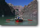 Stock photo. Caption: Dories on the Colorado River Granite Gorge,  Grand Canyon Grand Canyon National Park Colorado Plateau, Arizona -- boating dories trip trips southwest southwestern united states america rivers canyons spring desert deserts country rafting boat boats dory adventure wilderness experience plateau whitewater parks wooden  float paddles paddle outdoor recreation people