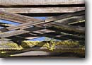 Stock photo. Caption: Dinkey Historic Bridge Dinkey Creek Sierra National Forest Sierra Nevada, California -- americana historical bridges sierras wooden creeks streams summer clear sunny truss trusses