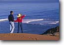 Stock photo. Caption: Montana de Oro State Park San Luis Obispo County California -- united states america person people  beaches beach ocean sand dunes pacific coastal central