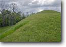 Stock photo. Caption: Emerald Mounds Natchez Trace Parkway   just north of Natchez Mississippi -- historical scenic destination destinations attractions spring tourist attraction historic southern scenics landmarks parks south indian native american religious prehistoric national monument register places ceremonial mississippian indians largest