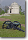 Stock photo. Caption: Illinois Monument Vicksburg National Military Park Vicksburg Mississippi -- historical scenic destination destinations attractions spring tourist attraction historic southern scenics parks south heritage civil monuments cannons cannon monument memorial battlefield battlefields  american artillery union confederate  history