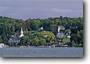 Stock photo. Caption: Eagle Harbor and Ephraim Lake Michigan Door Peninsula Door County, Wisconsin -- building buildings quaint harbors harbours harbour fall autumn town towns villages church churches landscape landscapes lakes lining village small america americana american