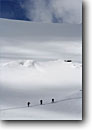Stock photo. Caption: Skiing the Alpiner Ferner Glacier Oberbergtal The Alps Stubaital, Austria -- people outdoor recreation crosscountry freedom solitude europe skiers snow mountains expanse vast sports sport cold winter landscape landscapes traverse sunny mountain extreme skier european destination destinations glaciers clear alpine backcountry