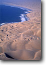 Stock photo. Caption: Aerial view of the Skeleton Coast Namib Desert Namibia Africa -- Keywords: dune dunes sand atlantic coasts coastal deserts african surf wave waves aerials geology geologic habitat landscape landscapes sensuous sensual soft coastline coastlines velvety velvet pattern patterns form forms design designs shore shores blue